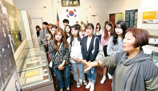 UC리버사이드로 연수 온 한국 학생 21명