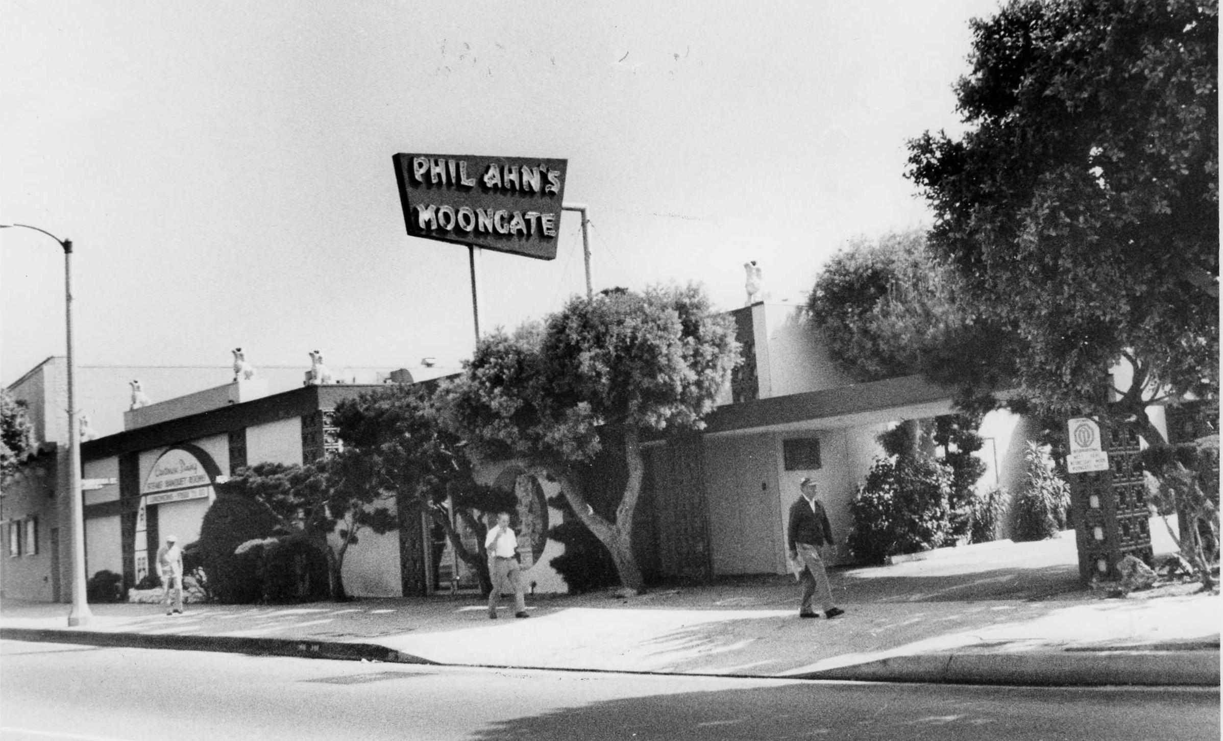 1954년 ~ 1990년까지 파노라마시에서 경영한 Moongate Restaurant